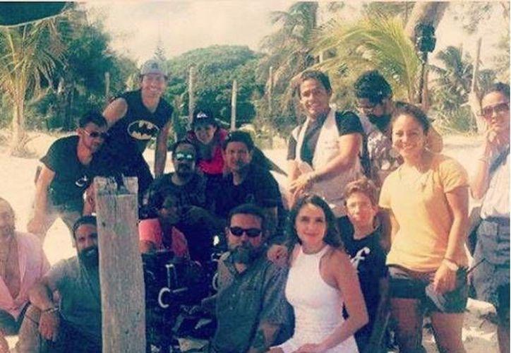 El elenco ha estado en Cancún e Isla Mujeres. (Foto: Instagram)