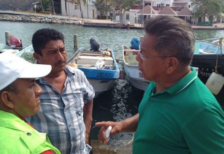 La capitanía del puerto de Guerrero notificó del hallazgo de la embarcación oaxaqueña, por parte de un barco coreano. (Óscar Rodríguez/Milenio Digital)