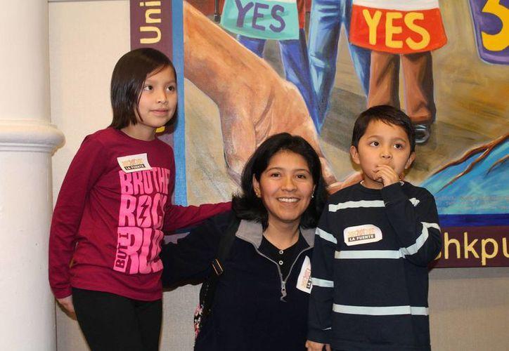 Angélica Salgado es una de las mexicanas que espera ser beneficiada con los programas a favor de inmigrantes indocumentados del gobierno federal, pese a suspensión temporal emitida por un juez de Texas. (Notimex/Archivo)