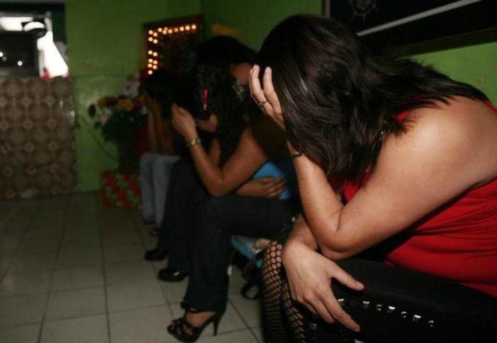 Las mujeres rescatadas eran obligadas a ejercer sexo servicio. (informador.com.mx)