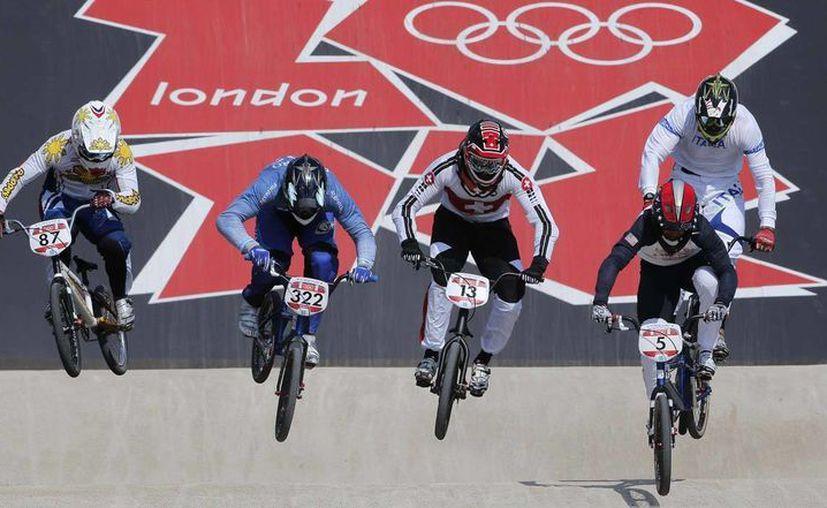 En Londres 2012 el BMX fue evento de exhibición. (Archivo/Agencias)