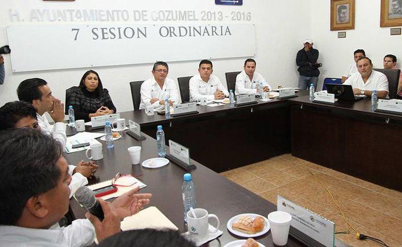 La Séptima Sesión Ordinaria de Cabildo realizada ayer. (Cortesía/SIPSE)