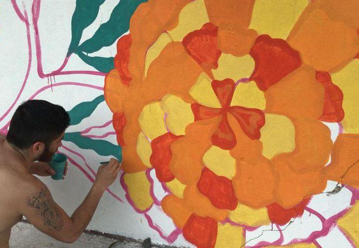 Las paredes exteriores del Panteón Municipal de Bacalar lucirán coloridos murales. (Javier Ortiz/SIPSE)