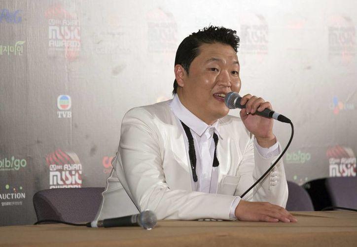 El rapero PSY es uno de los que acumulan más nominaciones en los Premios YouTube. (EFE)
