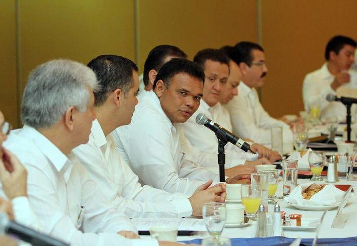 En el Consejo Directivo de Index se destacaron las ventajas competitivas de Yucatán. (Cortesía)