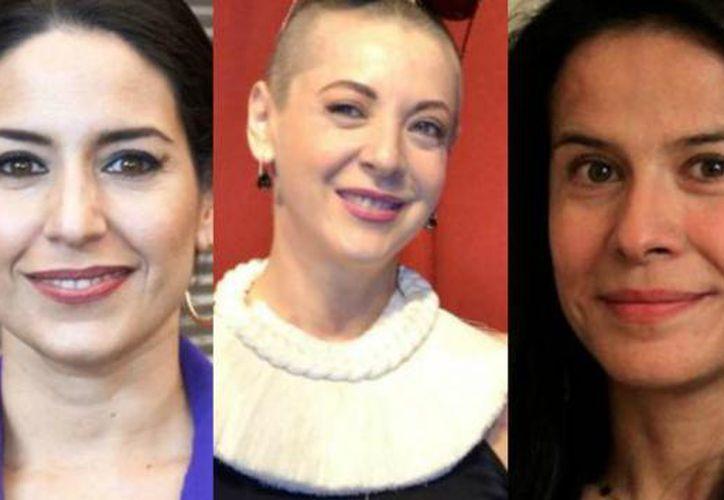 """Una de las actrices lamentó que """"las cifras de violencia contra las mujeres son altísimas. (Contexto)"""