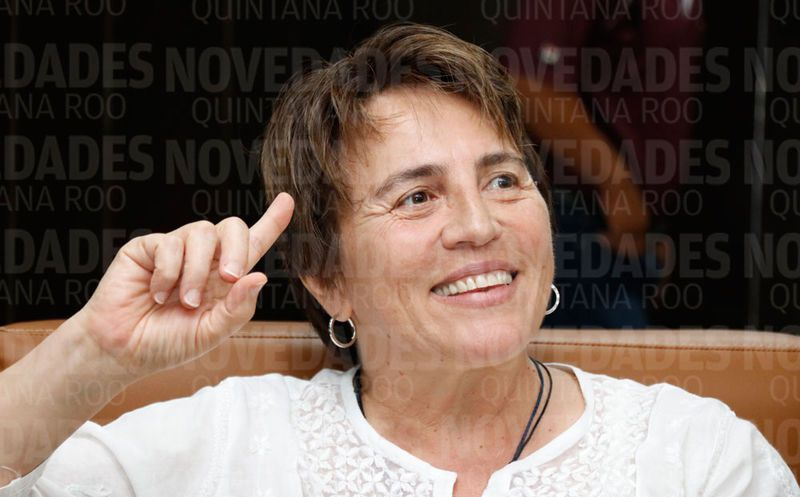 Laura Esther Beristáin Navarrete, candidata a la presidencia municipal de Solidaridad. (SIPSE)