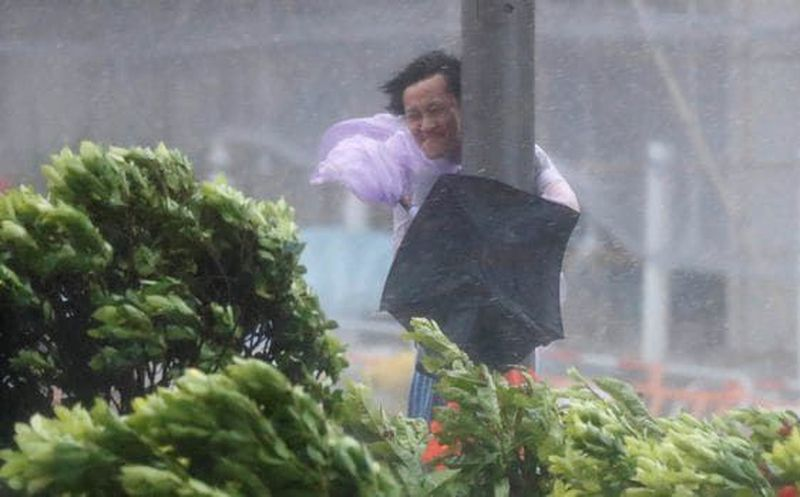 Tifón Hato deja saldo de tres muertos en el suroeste de China