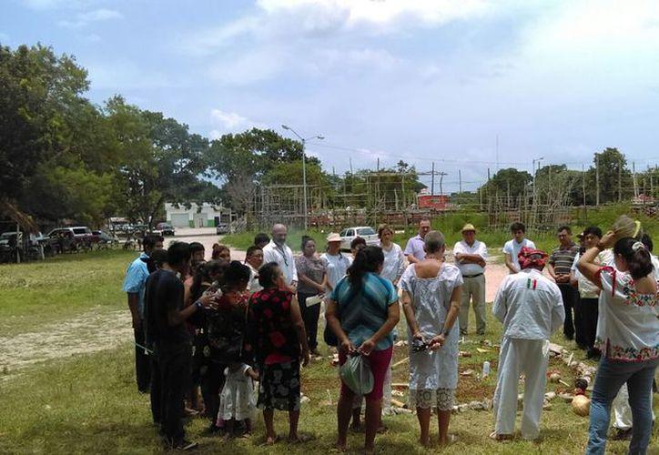 Se realizaron diversas actividades encaminadas a la preservación de la lengua y cultura maya. (Jesús Caamal/SIPSE)