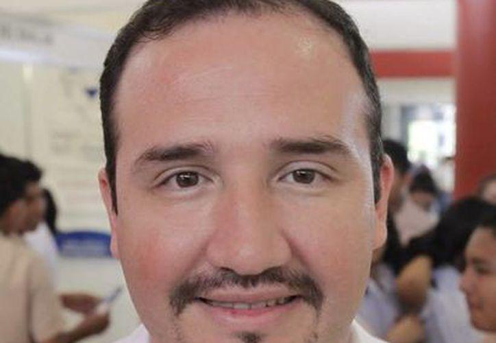 José Luis Pech Galera, rector de la Universidad Politécnica de Quintana Roo. (Redacción/SIPSE)