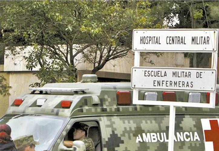 El mecanismo será instalado en el Hospital Central Militar. (Claudia Guadarrama/Milenio)