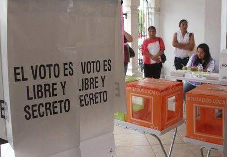 Los Organismos Públicos Locales Electorales tienen menos de 19 días para contar con dinero para los gastos de instalación de casillas. (Milenio)