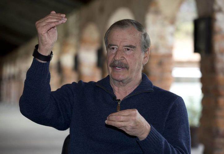 Vicente Fox se declaró a favor de la legalización de la amapola y la marihuana. (Archivo/AP)