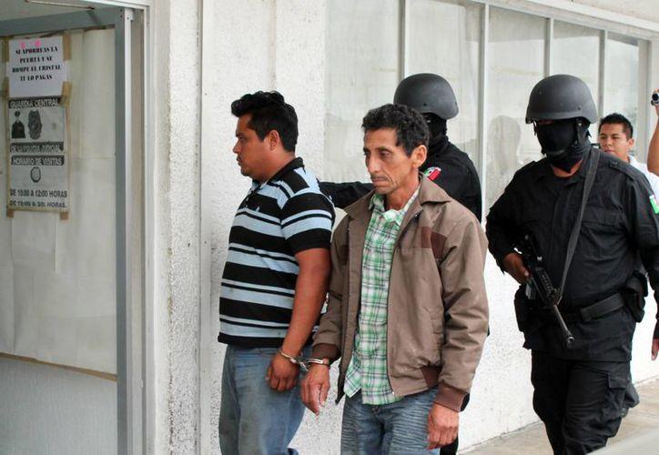En los cuatro casos se rescataron a las víctimas, no se pago rescate y se obtuvo la detención de los presuntos responsables. (Enrique Mena/SIPSE)