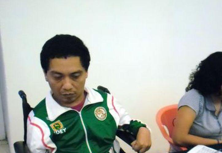 El ajedrecista  progreseño Francisco Castillo  Galera destaca a pesar de su  discapacidad (SIPSE)