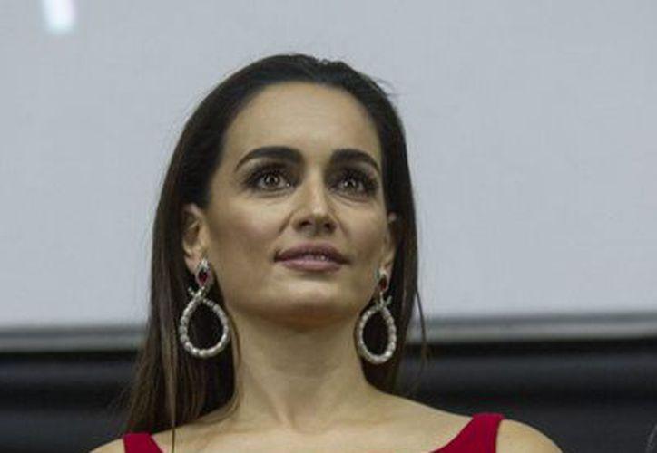 En el marco de la 13 del Festival Internacional de Cine de Morelia (FICM), Ana de la Reguera y Epigmenio Ibarra, entre otros actores, presentaron en función especial la cinta Las Aparicio. La actriz anunció una nueva serie de televisión autobiográfica. (Notimex)