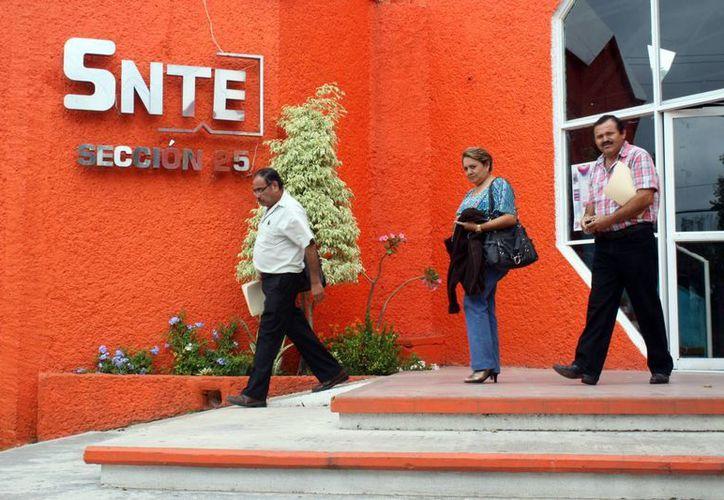 Los maestros de SNTE en Quintana Roo están a la espera de la liberación de los recursos correspondientes a las cuotas sindicales. (Juan Palma/SIPSE)