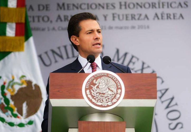 El Presidente de México expresó su solidaridad con las familias belgas afectadas por los actos terroristas de este martes en la capital de ese país. (Archivo/Presidencia)
