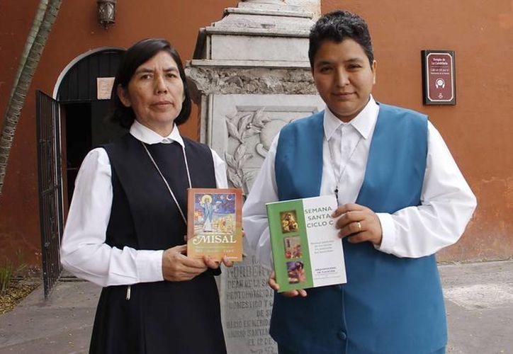 Las hermanas Fabiana Macedonio y Patricia Ruiz darán los cursos. (Juan Carlos Albornoz/SIPSE)