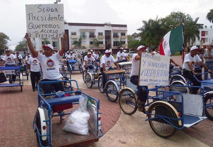 El tradicional desfile del 1 de mayo ha sido suspendido por respeto a la veda electoral. (Archivo/SIPSE)