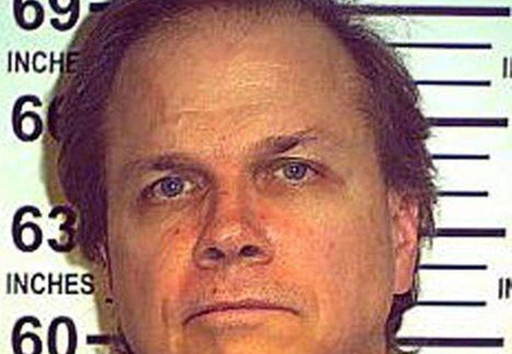 Imagen de Mark David Chapman,  culpable de homicidio intencional no premeditado en 1981 de  John Lennon. (Foto proporcionada por la NY state dept of correction)