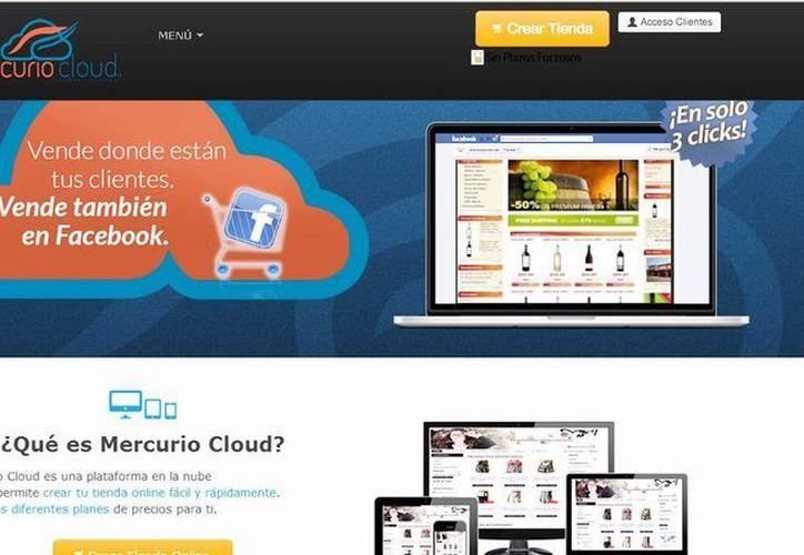 A través de Mercurio Cloud, las compañías podrán crear su tienda virtual  a bajo costo. (Milenio Novedades)