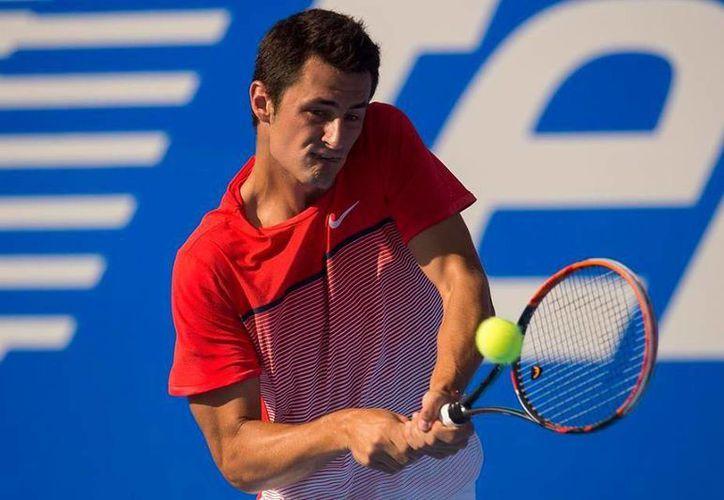 El quinto sembrado del Abierto Mexicano de Tenis, el australiano Bernard Tomic, avanzó a las semifinales del torneo y ahora enfrentará a  Alexandr Dolgopolov. (Abierto Mexicano de Tenis)