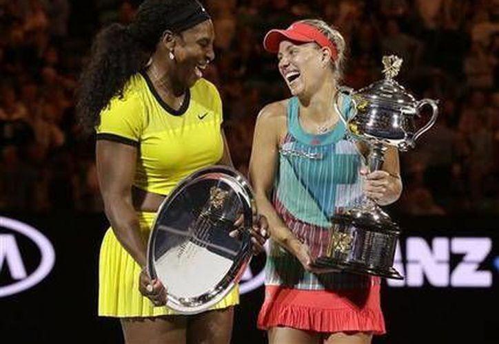 Angelique Kerber, rompió con todos los pronósticos en la final del abierto de Australia, al vencer a la número uno Serena Williams.(AP)