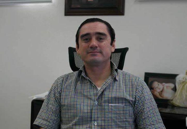 Manuel Barahona López, Recaudador de Rentas en el Municipio de Solidaridad. (Redacción/SIPSE)