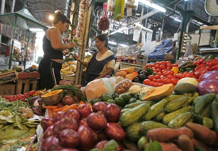 En Colombia, por cada tres toneladas de comida disponible en Colombia, una se va a la basura. (EFE)