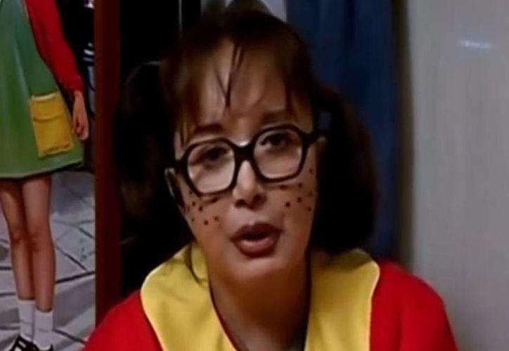 Captura de video de la entrevista a María Antonieta de las Nieves 'La Chilindrina' en el programa de 'MAgaly'. (Youtube)