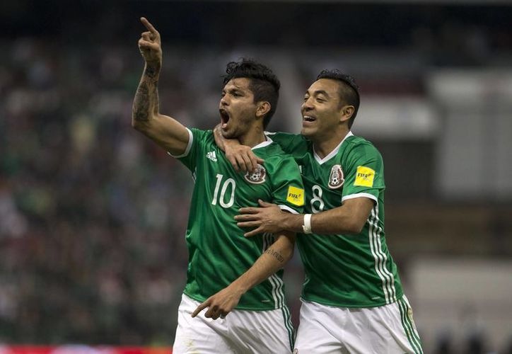 Jesús Manuel Corona fue el autor del segundo gol de la selección mexicana ante el representativo de Canadá.(AP)