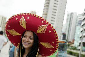 Los rostros del Brasil vs México