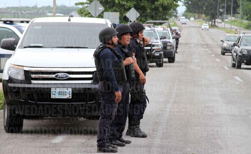 Planean mejorar las condiciones de seguridad con más elementos policíacos. (Benjamín Pat/SIPSE)