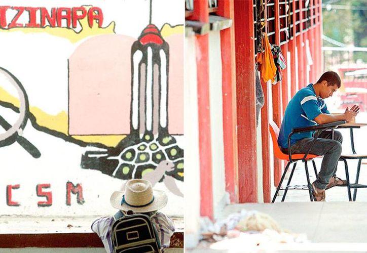En el inicio de la Evaluación Docente en Oaxaca, normalistas se enfrentaron a policías federales. La imagen es únicamente de contexto, y no corresponde al hecho. (Archivo/excelsior.com.mx)