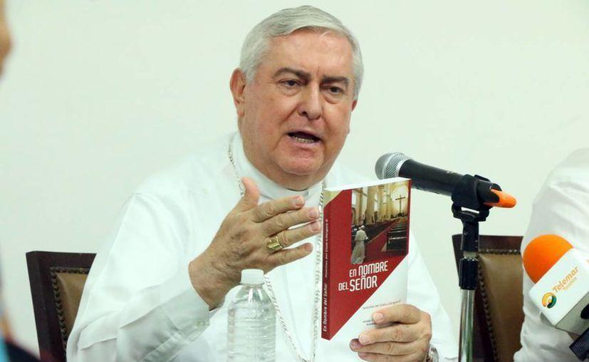 El arzobispo emérito de Yucatán, Mons. Emilio Carlos Berlie Belauzarán, será el representante de México en los encuentros internacionales. (Milenio Novedades)