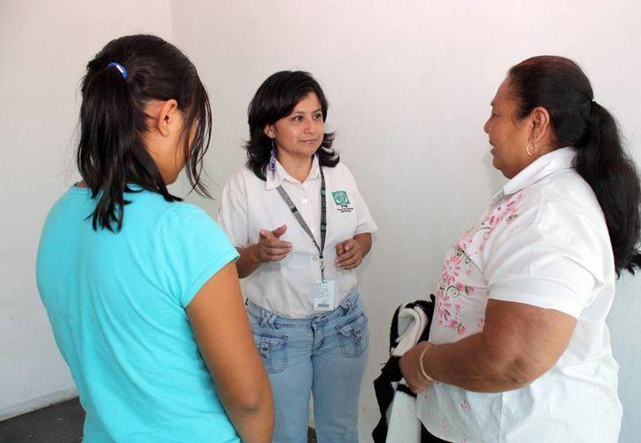 La menor y su madre fueron canalizadas al DIF para que resuelvan sus problemas familiares. (Cortesía)