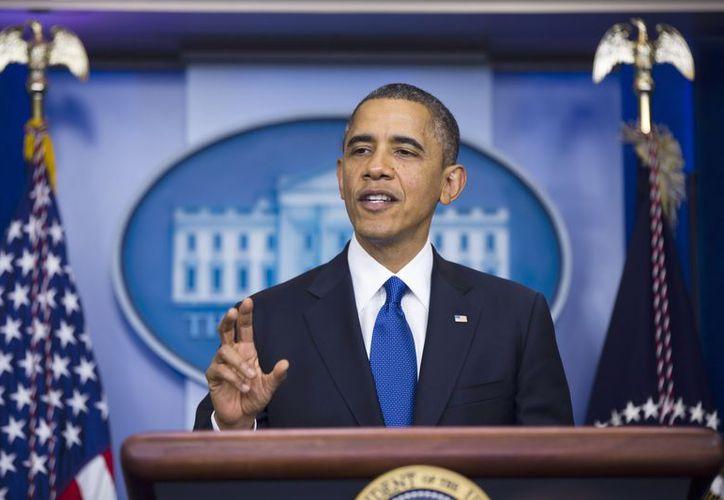 Obama asumirá oficialmente el cargo el 20 de enero. (EFE)