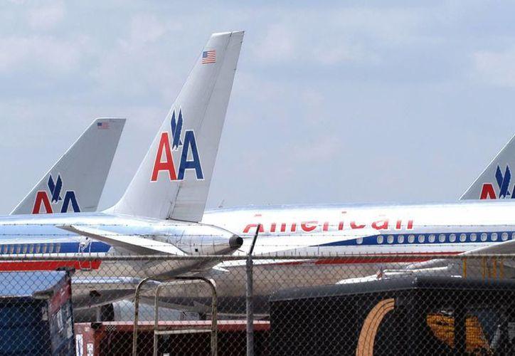 American Airlines opera más de 3 mil 500 vuelos diarios en todo el mundo. (Archivo/EFE)