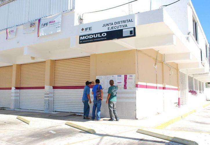 20 mil 71 nuevos electores han engrosado a la lista nominal del IFE. (Tomás Álvarez/SIPSE)