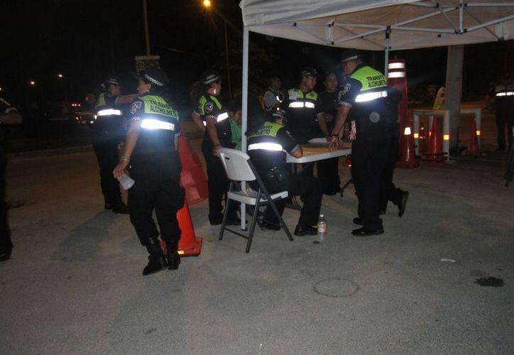 En estas fiestas no hubo detenidos en el alcoholímetro. (Redacción/SIPSE)