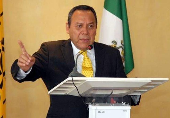 El presidente del PRD, Jesús Zambrano, anunció el jueves la decisión del partido de retirarse del Pacto. (Archivo/SIPSE)