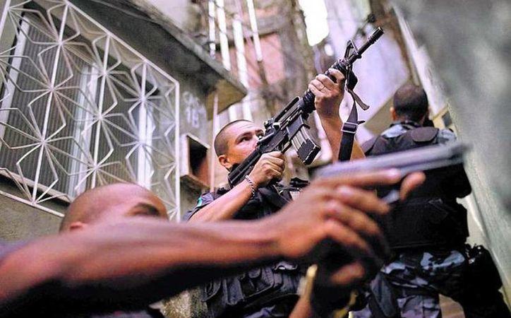 La atmósfera de guerra urbana se agravó en Rio tras el fin de los Juegos Olímpicos el pasado 21 de agosto. (Archivo/AP)