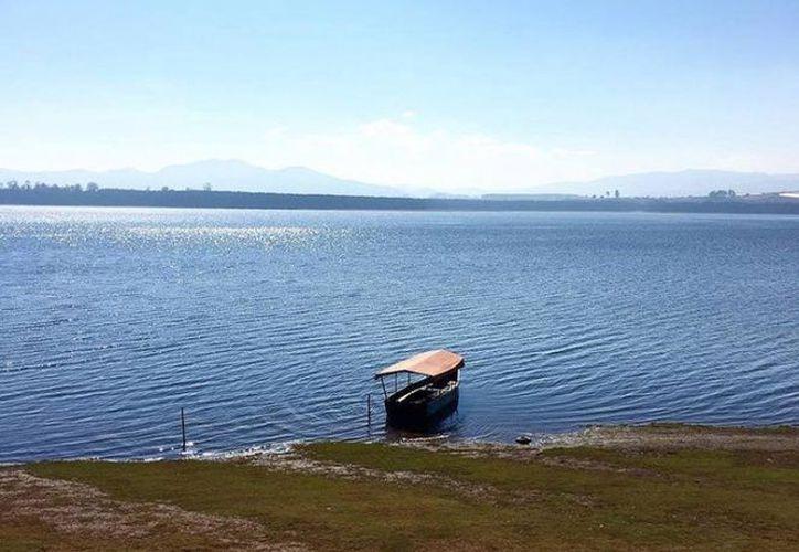 En la presa El Tejocotal del municipio de Acaxochitlan se registraron los hechos. (excelsior.com)