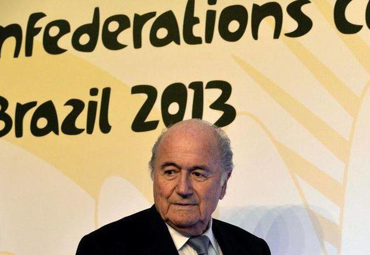 """Blatter afirmó que cuando se organiza una Copa Mundial o unos Juegos Olímpicos """"no se puede tener contentos a todos... (FIFA)"""