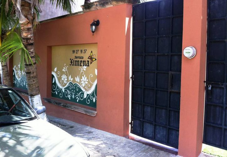 """El local para la organizacion de eventos """"Terraza Ximena"""", es señalado por los propios vecinos de rebasar los 68 decibeles permitidos. (Octavio Martínez/SIPSE)"""