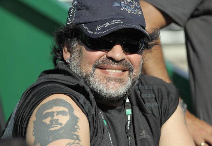 Maradona fue campeón del mundo en 1986, y como entrenador dirigió a Argentina en Sudáfrica 2010. (EFE)