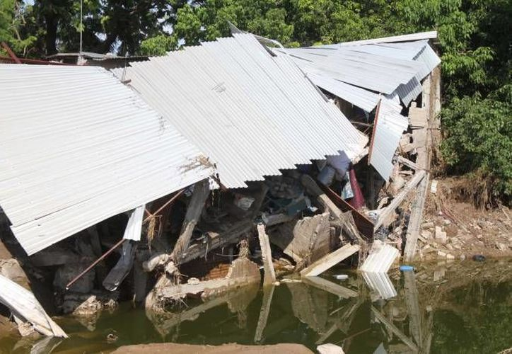 La reubicación de damnificados por los huracanes Manuel e Ingrid y por inundaciones se realizará en los próximos meses. (Notimex/Foto de archivo)