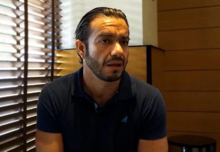 Nazario Ceballos Franco dice que su hermana Ligia, quien denunció ante la PGR, hace unos días, que fue víctima de desaparición forzada, sólo quiere llamar la atención, y que con eso ha manchado el honor de su familia. (Christian Coquet/SIPSE)