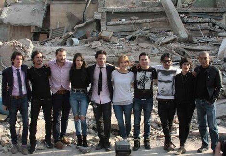 Para darle realismo a la producción, en el filme <i>El día del temblor</i>, participaron más de 500 personas. (Milenio Digital)